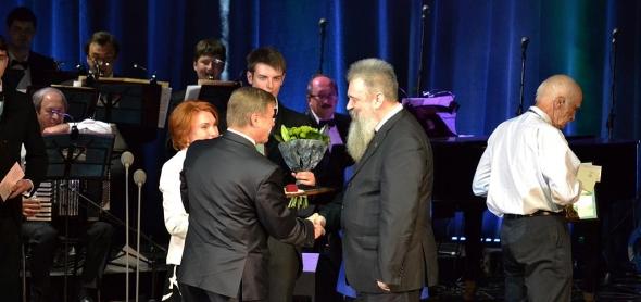 Игорь Поповский – лауреат премии Севастьянова