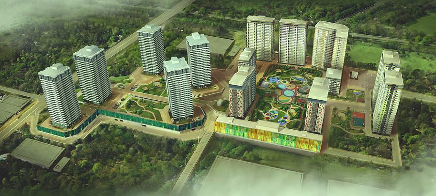 """ЖК """"Оазис"""". Источник: skyscrapercity.com"""