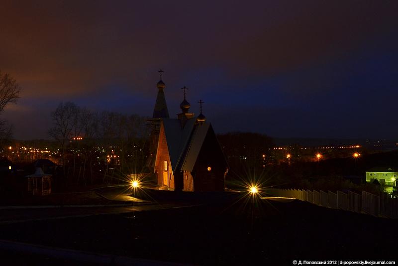 Храм ночью 2