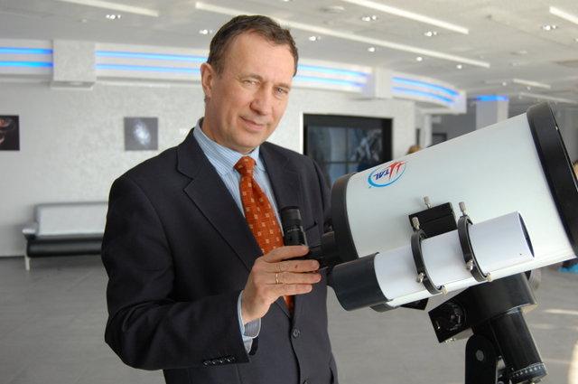 Директор Большого Новосибирского планетария Масликов С.Ю.