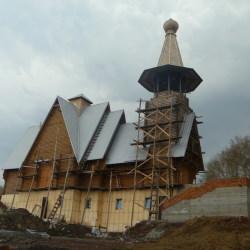 Строительство храма в г.Новокузнецке