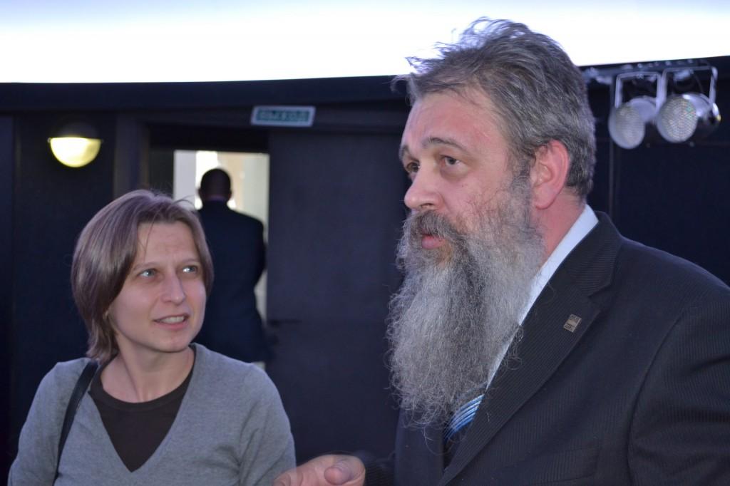 И.В. Поповский и Л.А. Ющук - разработчики концепции Астрофизического центра